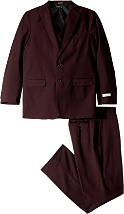 Calvin Klein Kids - Shiny Square Three-Piece Suit (Big Kids)