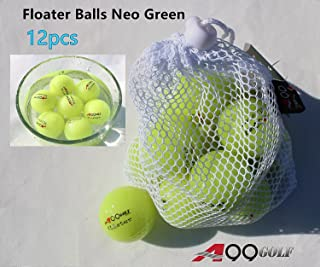 A99 Golf Floater Balls Neo Green Water Range 12pcs Neo Green
