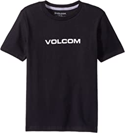 Volcom Kids Crisp Euro Short Sleeve Tee (Toddler/Little Kids)