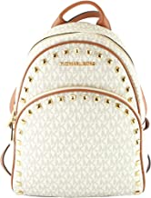 Michael Kors Abbey Jet Set Meadium Studded Leather Backpack Travel Bookbag