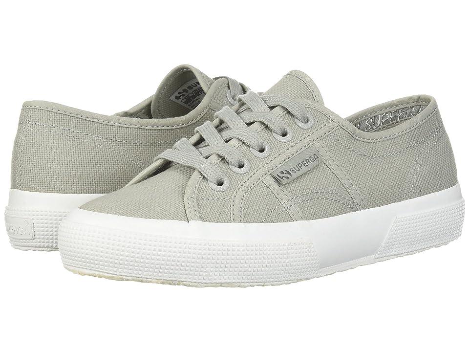 Superga 2750 COTU Classic Sneaker (Light Grey Full) Women