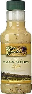 Olive Garden Light Italian Dressing, 16 oz (Pack of 2)