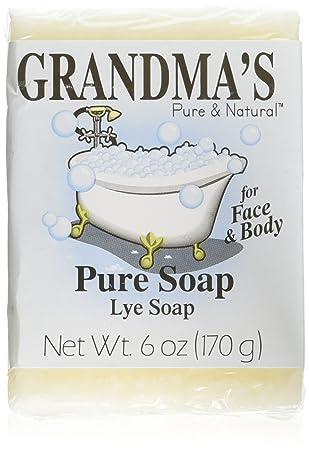 Unscented Soaps for Sensitive Skin   GRANDMA's