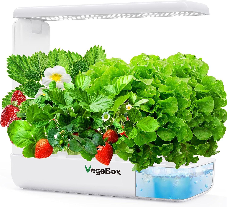 Vegebox 12 Popular brand in the world Pods Hydroponics Growing S Indoor Max 88% OFF Herb Garden System