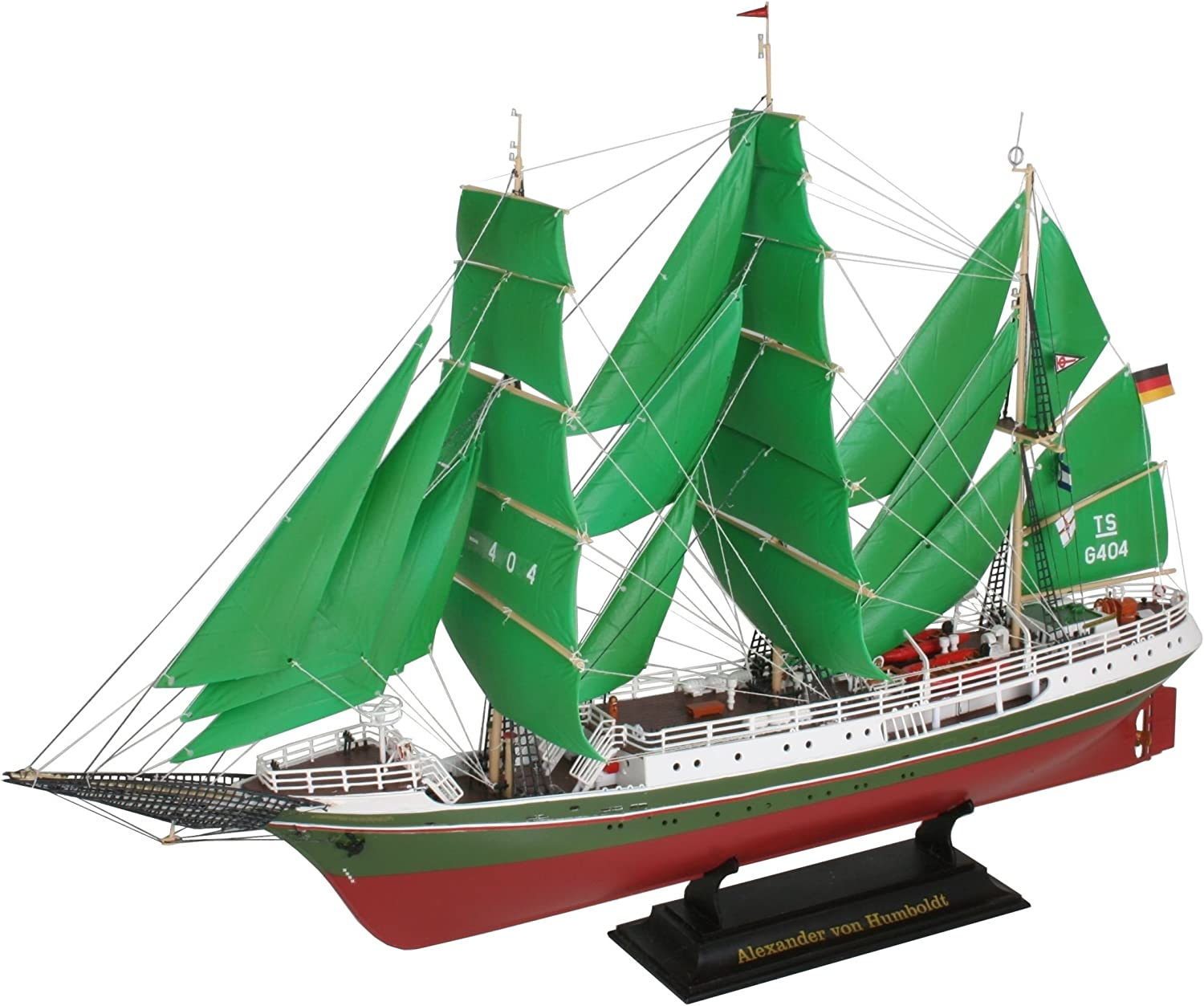 Alexander Von Humboldt (Sailing Ships) 1 150 Scale Revell Model Kit Exclusive