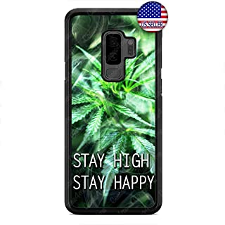 Weed Funny Quote Phone Case Marijuana Cannabis Custom Cover for Samsung Galaxy S10e S10 S10 Plus S9 S9 Plus S8 S8 Plus
