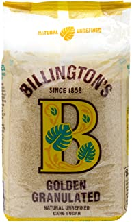 Billington's Golden Granulated Sugar, 1kg