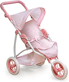 Badger Basket Three Wheel Doll Jogging Stroller (fits American Girl Dolls)