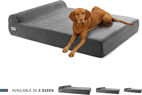 Petlo Giant Orthopedic Pet Bed for Big Breed Dogs with Head Rest | Amazon