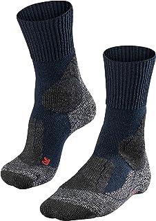 Calcetines de Acampada y Senderismo para Mujer, tamaño 39-40, Color Asfalto
