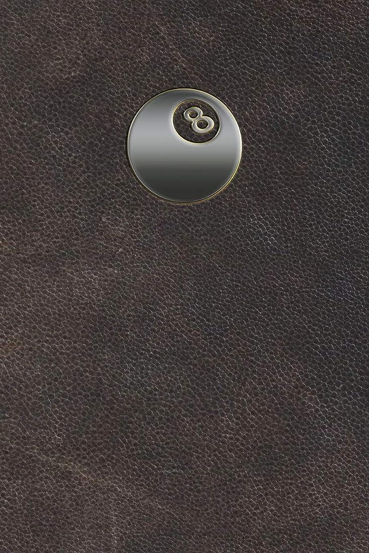 ヘリコプターカイウス懇願するMonogram Pocket Billiards (Pool) Journal (Monogram Aged 365 Lined)