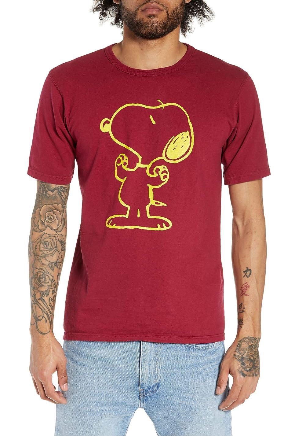経済粘着性蘇生する[チャンピオン] レディース Tシャツ Champion Heritage Snoopy T-Shirt [並行輸入品]