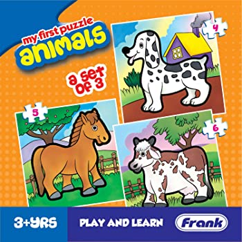 Frank Animals Puzzle For 3 Year Old Kids And Above