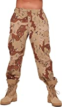 6 color desert pants