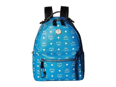 MCM Stark White Logo Visetos Backpack 32