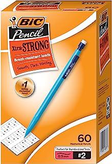 مداد مکانیکی BIC Xtra-Strong ، ضخامت (0.9 میلی متر) ، بشکه رنگارنگ ، رنگ های متنوع ، 60 شمارش