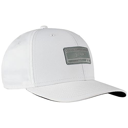 4b30a3b775c 2015 Srixon 6P Classic Performance Structured fit Mens Golf Cap Adjustable