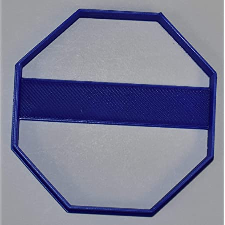 3 Sizes Details about  /Highway Sign Cookie Cutter