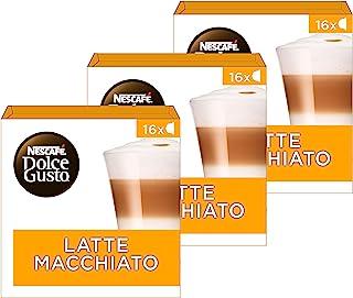 Nescafé Dolce Gusto Latte Macchiato - 48 capsules (Lot de 3X16)