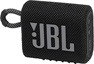 JBL GO 3 Speaker Bluetooth Portatile, Cassa Altoparlante Wireless con Design Compatto, Resistente ad Acqua e Polvere IPX67...