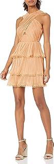 Keepsake the Label womens Joyful Sleeveless X-Top Ruffle Mini Dress Dress