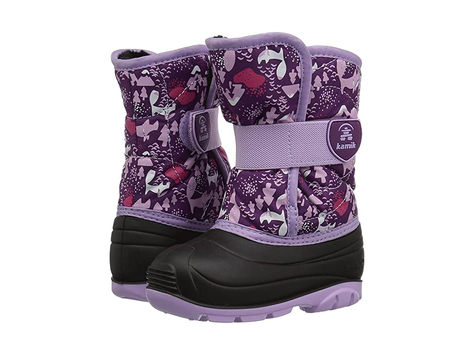 Kamik Kids Snowbug 4 (Toddler) (Grape/Lavender) Girls Shoes