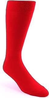 Solid Color Men's Dress Socks