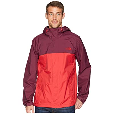 The North Face Venture 2 Jacket (Rage Red/Rage Red) Men