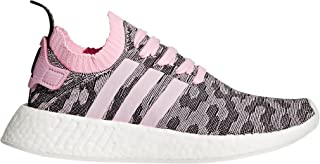 adidas Originals Women's NMD_R2 PK W Running Shoe, Wonder Pink/Black, 11 M US