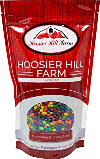 Hoosier Hill Farm Rainbow Seeds Chocolate Covered & Candy Coated Sunflower Seeds, 3 Lb