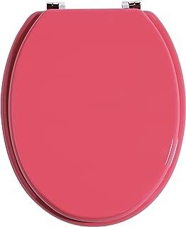 Premier Housewares Toilet Seat - 5.5 x 37 x 46 cm - Hot Pink