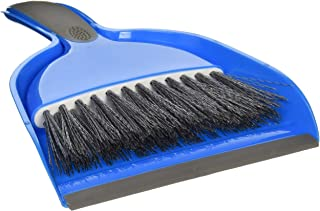 The Home Store One Small Hand Broom with Snap-on Dust Pan, Colors May Vary