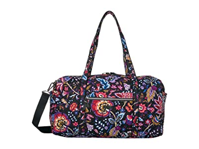Vera Bradley Iconic Medium Travel Duffel (Foxwood) Duffel Bags
