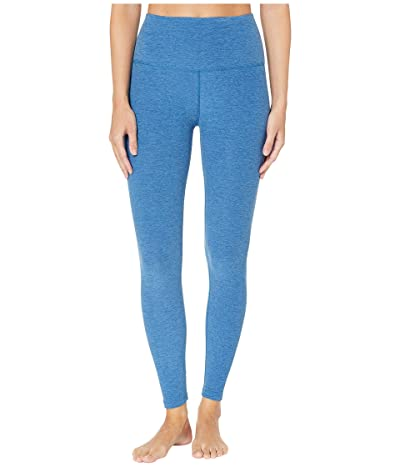 Beyond Yoga Spacedye High-Waist Midi Leggings (Victory Blue/Blue Suede) Women