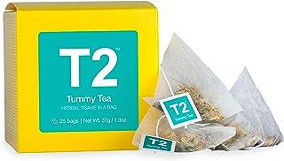 T2 Tea Tummy Tea Herbal Tea Bags in Box, 25-Count