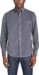 Men's Corduroy Button Down Shirt