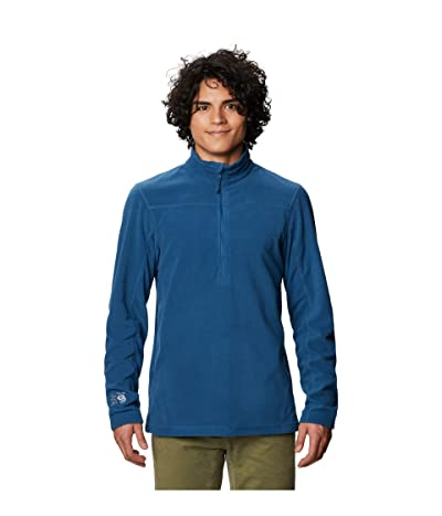 Mountain Hardwear Microchill 2.0 Zip T (Blue Horizon) Men