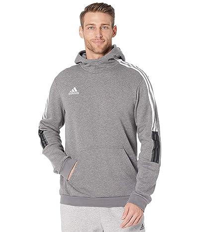 adidas Tiro 21 Sweat Hoodie (Grey Melange Solid) Men