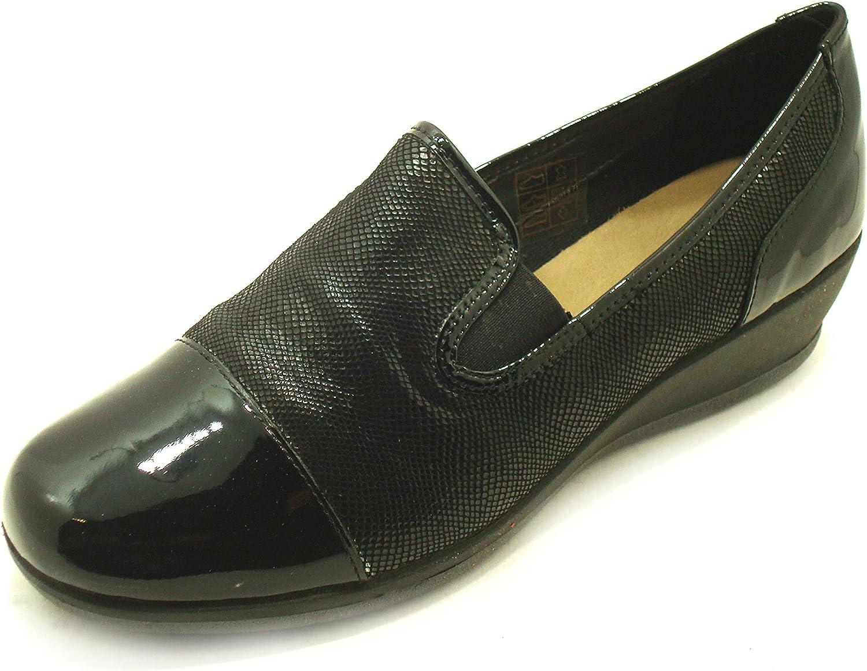 Online Verkauf,GRüNLAND , schwarz schwarz Mokassins Damen