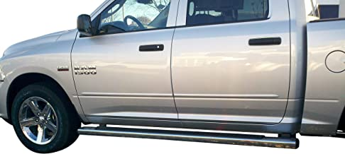 Body Side Moldings made for the Dodge Ram Crew Cab Painted in the Factory Paint Code of Your Choice PGT