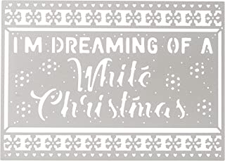 First Edition Christmas 2018 - Metal Craft A Card Die - White Christmas