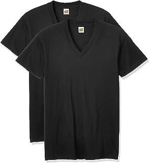 [グンゼ] インナーシャツ G.T.HAWKINS BASICPACKT-SHIRT 綿100% VネックTシャツ 2枚組 HK10152 メンズ