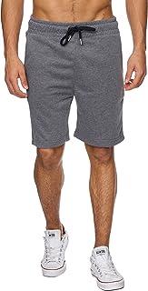 Reslad Kurze-Hose Herren Jogginghose Kurz Sweat-Shorts Basic Sport-Hose Freizeit Sweat-Hose RS-5061