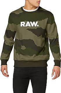 G-STAR RAW Men's Graphic 19 Core Round Neck Sweatshirt