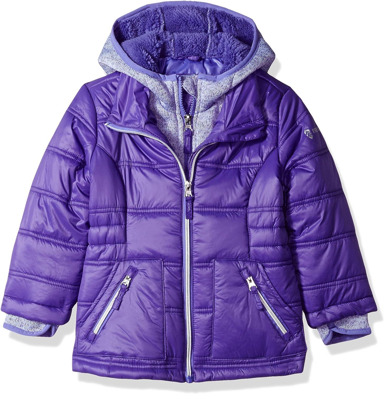 Free Country Mountain Fleece Girls Bib Jacket