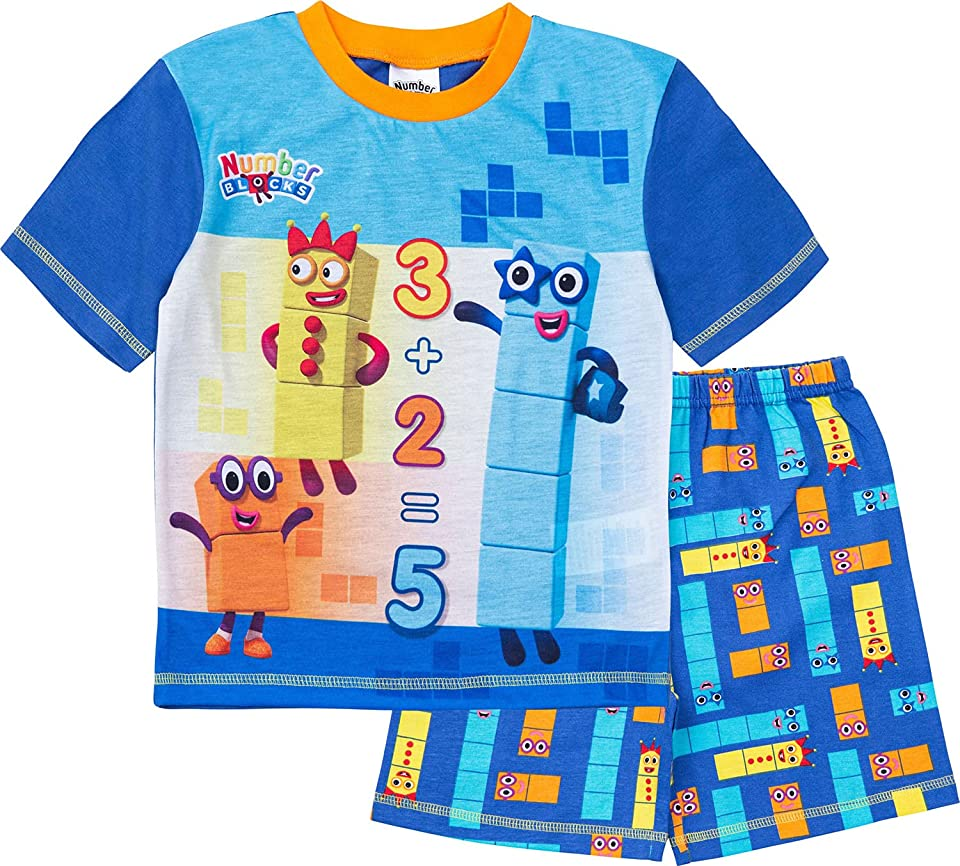 Boys Short Pyjamas Pjs Ages 3 to 7 Years Old