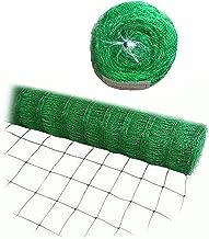 Bluefire Direct Green Trellis Netting for Climbing Plants Commercial Grade Plastic Garden Trellis Net (6.5 ft x 3280 ft)