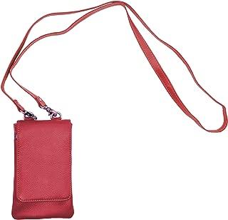 Genuine Cowhide Leather Mini Crossbody Wallet Shoulder Night Bag