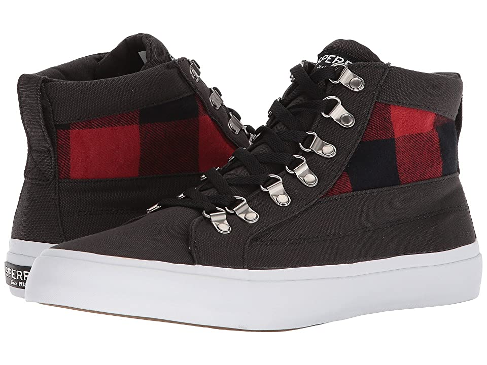 Sperry Cutter Alpine CVS (Black/Red) Men