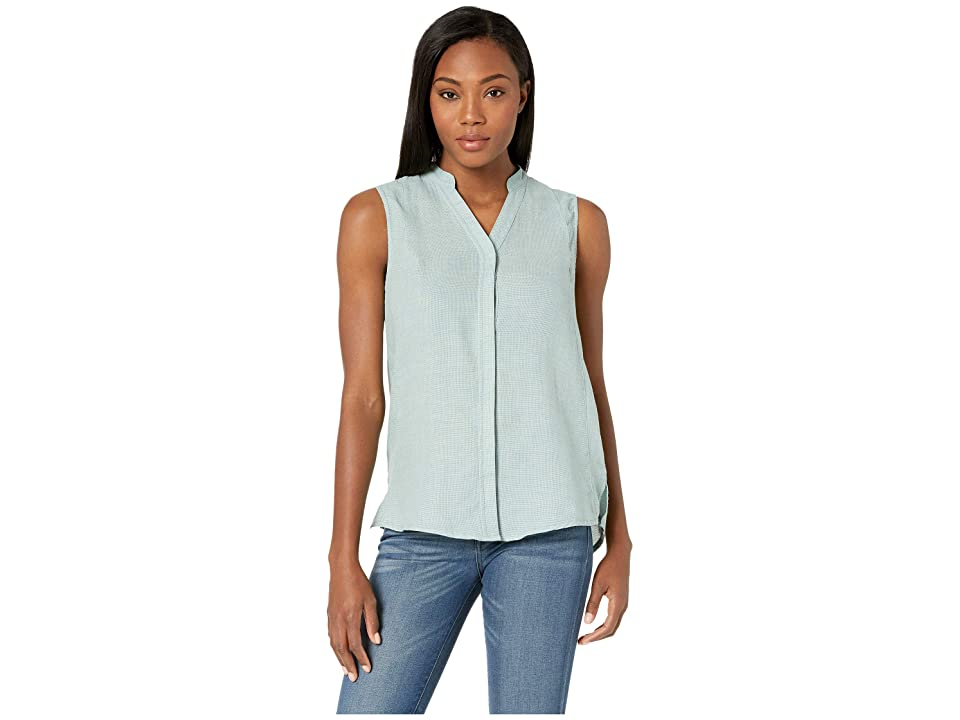 NAU Aere Sleeveless Shirt (Jade Check) Women